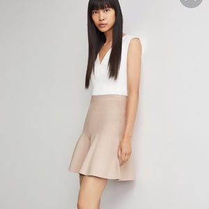 NWT BCBGMaxAzria Ingrid skirt in bare pink